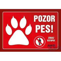 Tabuľka Pozor pes