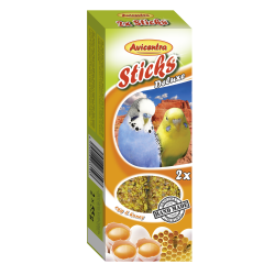 Tyčinka andulka-vajíčko+med 2ks