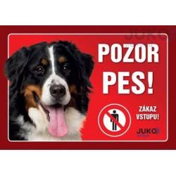 cedulka Bernský Salašnický pes