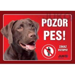 cedulka Labrador hnedý