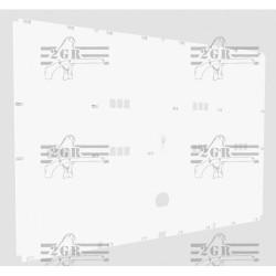zadny plastový kryt na klietku 326/Z