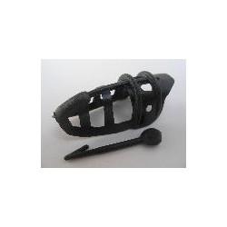 Plastovy chranič na zobák menši
